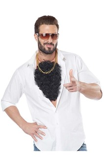 Macho Hairy Chest Hair Costume Accessory