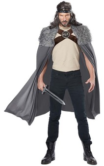Dragon Master Cape Adult Viking Warrior Costume Accessory