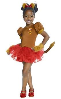 Lion Tutu Child Toddler Wizard Of Oz Costume