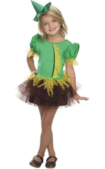 Scarecrow Tutu Child Toddler Wizard Of Oz Costume