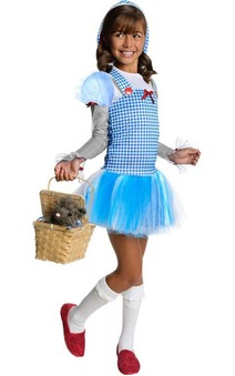 Dorothy Hoodie Wizard Of Oz Tutu Child Costume