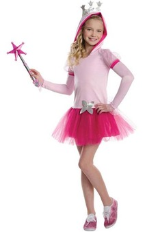 Glinda Witch Wizard Of Oz Hoodie Tutu Child Costume