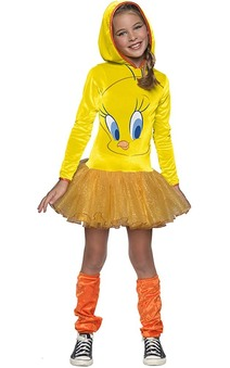 Tweety Bird Hoodie Tutu Child Costume