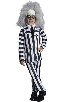 Deluxe Beetlejuice Child Costume