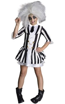Beetlejuice Girls Child Costume