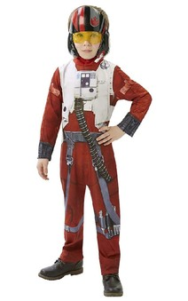Poe X-wing Fighter Star Wars Child Costume