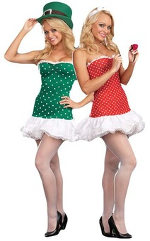 Reversible Costume St Patricks & Valentines Day Adult Costume