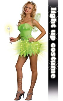 Tinkerbell (light-up) Adult Costume