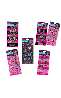 GIRLS MONSTER HIGH STICKERS ACCESSORY