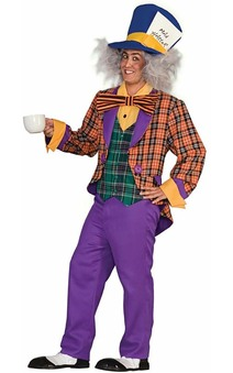 Mad Hatter Alice in Wonderland Adult Costume