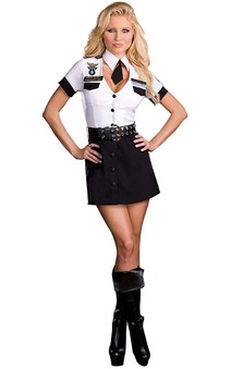 Strip Search Officer Adult Costume