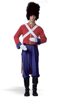 Toy Solider Bristish Guard Adult Costume