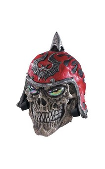 Demon Rider Skull Latex Mask