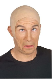 Latex white & brown flesh bald cap