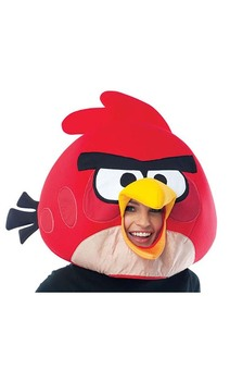 Red Angry Birds Adult Mask