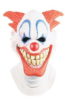 Evil Clown Latex Adult Mask