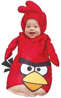 Baby Angry Birds Red Bunting Jumpsuit Costume