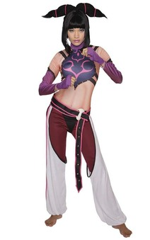 Juri Street Fighter Adults Costume