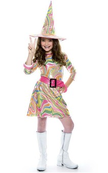 Groovy Witch Child Costume