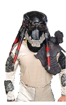 Black Predator Latex Mask