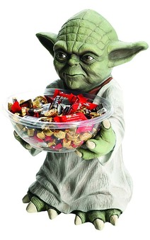 Yoda Star Wars Halloween Candy Holder