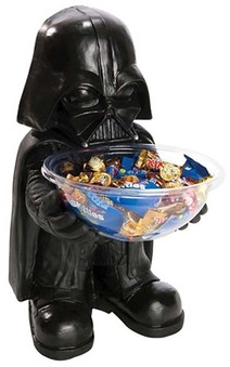 Darth Vader Star Wars Halloween Candy Holder