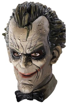 Joker Arkham City Deluxe Latex Batman Mask