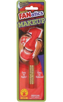 Red Sport Fanatics Makeup Stick Face Paint