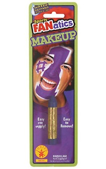 Purple Sports Fanatics Makeup Stick Face Paint