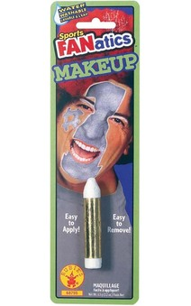 Silver Sports Fanatics Makeup Stick Face Paint