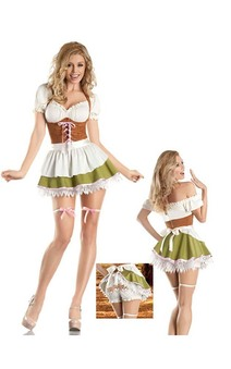 Oktoberfest Goldilocks Fairytale Adults Costume
