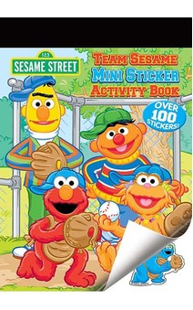 Sesame Street Sticker Activity Book