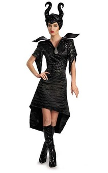 Maleficent Deluxe Christening Gown Adult Costume