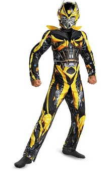 Bumblebee Muscle Child Transformers Costume