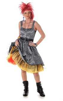Cyndi Lauper Pop Starlet Adult Costume