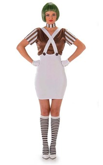 Oompa Loompa Candy Maker Adult Costume