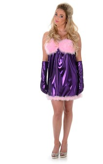 Baby Doll Fembot Austin Powers Adult Costume