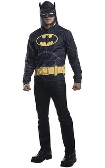 Batman Hoodie Mask Adult Jumper Costume