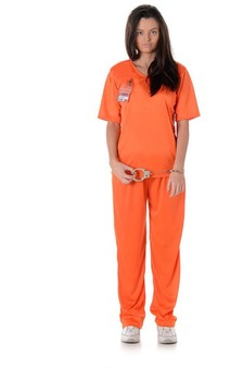 Orange Is The New Black Prisoner Adult Costume
