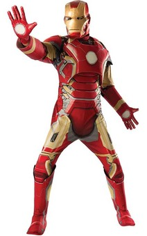 Avengers 2: Deluxe Iron Man Adult Costume