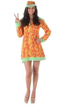 Groovy Girl Adult 60s Costume