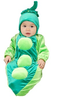 Pea in the Pod Bunting Child Costume