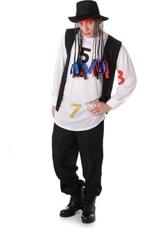 Boy George Culture Club Adult Costume