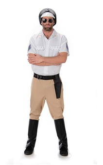 Village People Motocycle Cop Adult Costume