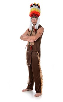 Village People Indian Chief Adult Costume