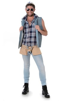 Village People Construction Worker Adult Costume