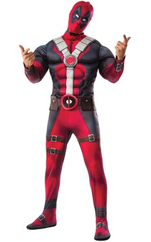 Deadpool Adult Deluxe Costume