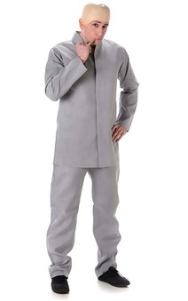 Dr Evil Adult Austin Powers Costume