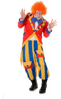Circus Clown Adult Carnival Costume