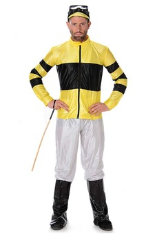 Jockey Horse Racing Eqestrian Melbourne Cup Costume